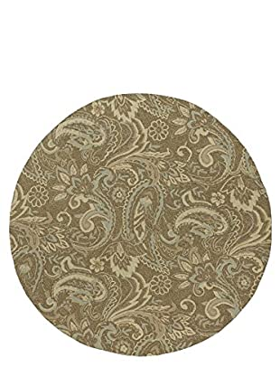 Kaleen Home & Porch Indoor/Outdoor Rug, Mocha, 7' 9