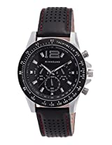 Giordano Analog Black Dial Men's Watch - Victory - P9275