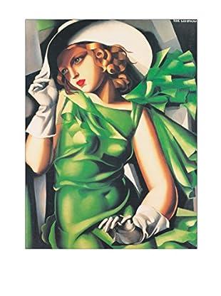 Artopweb Wandbild De Lempicka Giovane Ragazza Al Vento 60x80 cm mehrfarbig