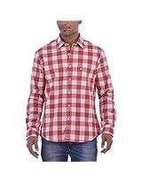 Barrier Reef Men's Slim Fit Shirt(Turq,M)