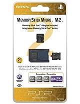 2GB Memory Stick Micro Media + M2 Duo Adaptor - Sony PSP