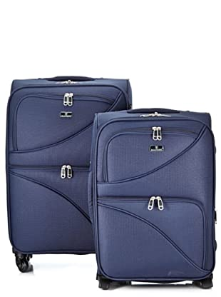 Valleverde Set 2 Trolley (Blu)