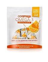 Coromega Omega3 Squeeze Packets, Orange, 120-Count
