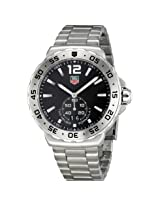 Tag Heuer Formula One Grande Date Black Dial Stainless Steel Men'S Watch - Thwau1112Ba0858
