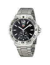 Tag Heuer Formula One Grande Date Black Dial Stainless Steel Men'S Watch - Thwau1112Ba0858