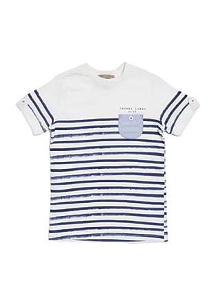 Camiseta Rayas Blount (Azul / Blanco)