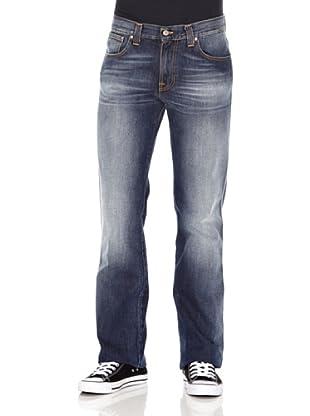 Nudie Jeans Pantalón Slim Jim (Azul medio)