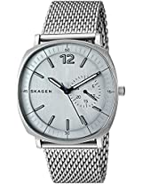 Skagen Rungsted Analog Grey Dial Men's Watch - SKW6255