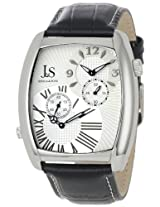 Joshua & Sons Men's JS712SS Quartz Dual Time Dress Watch