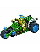 Carrera Of America Teenage Mutant Ninja Turtles Leonardo's Trike Slot Car, 1:43 Scale