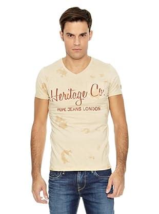 Pepe Jeans London Camiseta Dave (Crudo)