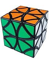 LanLan Black Curvy Copter Puzzle Cube