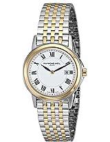 Raymond Weil Women's 5966-STP-00300 Tradition Analog Display Swiss Quartz Two Tone Watch