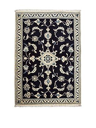 RugSense Teppich Persian Nain schwarz 153 x 100 cm