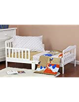 Dream On Me Jungle Babies 4 Piece Toddler Bedding Set