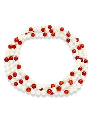 Nova Pearls Copenhagen Collana Perle Acqua Dolce 7 - 8 mm