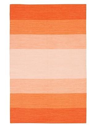 Chandra India Rug (Orange)