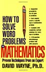 HOW TO SOLVE WORD PROBLEMS IN MATHEMATICS (EBOOK) (How to Solve Word Problems Series)