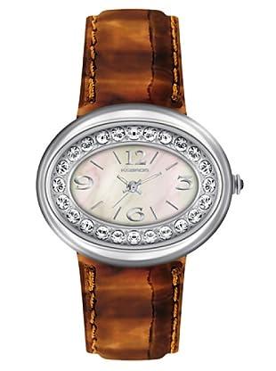 K&BROS 9158-5 / Reloj de Señora  con correa de piel marrón