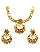Ethnic Indian Bollywood Jewelry Set Traditional Fashion Necklace SetABNE0340MA