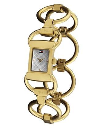 Tommy Hilfiger 1780624 - Reloj de Señora movimiento automático, brazalete metálico color dorado
