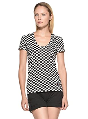 Datch Gym Camiseta Taylor (Blanco / Negro)