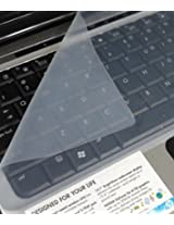"""TEKZI 2 IN 1 COMBO - Laptop Screen Guard and Keyboard Protector for all Laptops Size 15.6"""""""
