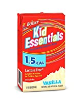 Boost Kid Essentials 1.5 Vanilla Brikpak 27 X 8oz Case