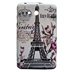 Vintage Eiffel Tower Silicone Back Case Cover For Samsung Tab 3 Lite Sm-T110 7.0