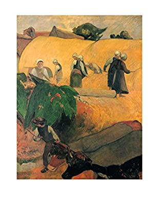 LegendArte  Wandbild Mäher von Paul Gauguin