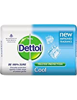 Dettol Soap Value Pack, Cool (3 Pieces x 125g) with Free Soap Worth Rs. 25