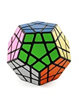 ShengShou MegaMinx Black + Maru Lube 10ml + Cubelelo Cube Pouch COMBO Offer