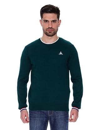 Le Coq Sportif Jersey Cosson Sweater (Verde)