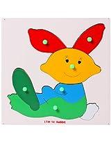 Little Genius - Wooden Rabbit Puzzle