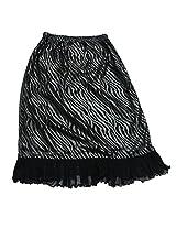 Romano Girl's Black Skirt