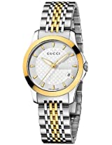 Gucci G Timeless Stainless Steel Ladies Watch Ya126511