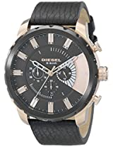 Diesel End-of-Season Stronghold Chronograph Black Dial Men's Watch-DZ4347