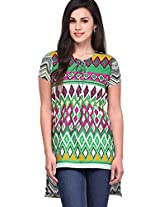 Multi Color Printed Kurti Yepme
