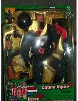 Gi Joe Spy Troops Cobra Viper 12 Inch Figure