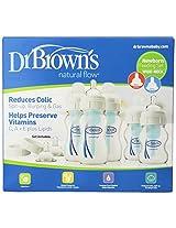 Dr. Brown's Natural Flow Wide Neck Newborn Feeding Set