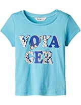 Beebay Girls Voyager T-shirt Blue 12Y