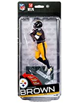 Antonio Brown Pittsburgh Steelers Nfl 37 Mc Farlane Collector Level Gold Chase