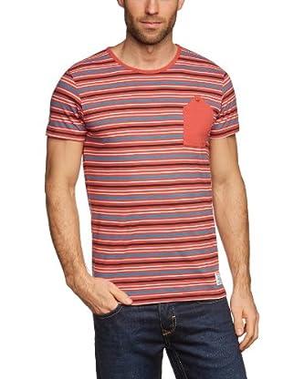 JACK & JONES Camiseta (Rojo)