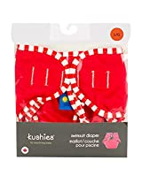 Kushies Cloth Swim Diaper - - Red - Large