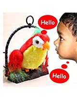 7inch Talk Talking Back Parrot Bird Kids Toy - 80
