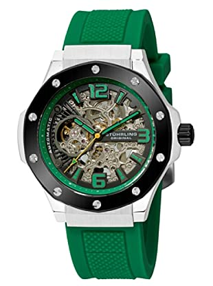 STÜRLING ORIGINAL 160A2.3316D2 - Reloj de Caballero movimiento automático con correa de silicona