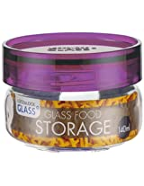Lock&Lock Glass Canister, 140ml, Purple
