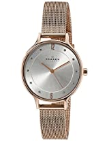 Skagen End-of-Season Anita Analog Silver Dial Women's Watch - SKW2151