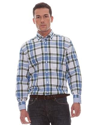 Gant Camisa Cuadros (blanco)