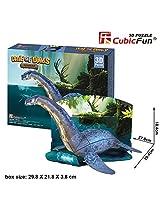 Cubic Fun Age Of Dinos 3 D Puzzle Plesiosaur, P671 H 38pcs